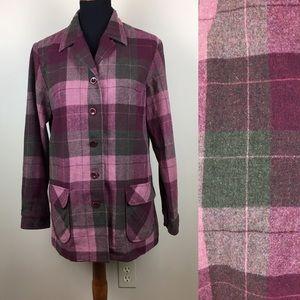 Pendleton vintage wool shirt jacket size M